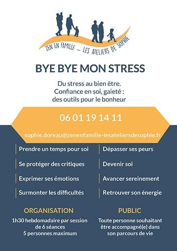 Bye Bye mon stress zen en famille