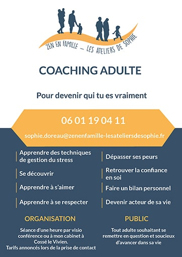 Coaching adulte zen en famille