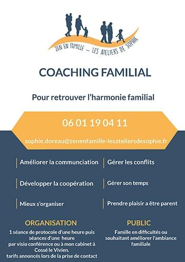 Coaching familial zen en famille